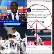 UEFA, Real Madrid reacts as Mendy receives award for his performance