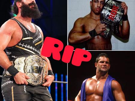 5 wrestlers who died within 2018 to April 2021
