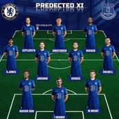 Chelsea predicted starting XI the could use against Everton
