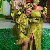 Queens, Check out these 25 Stunning and Chic Green Asoebi Dress Styles You can Rock to any Owambe.