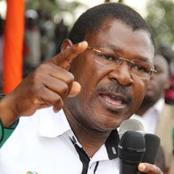 'Hapa Ni Kwangu' Wetangula tells Public Why He Will Win Over Ruto In Kabuchai
