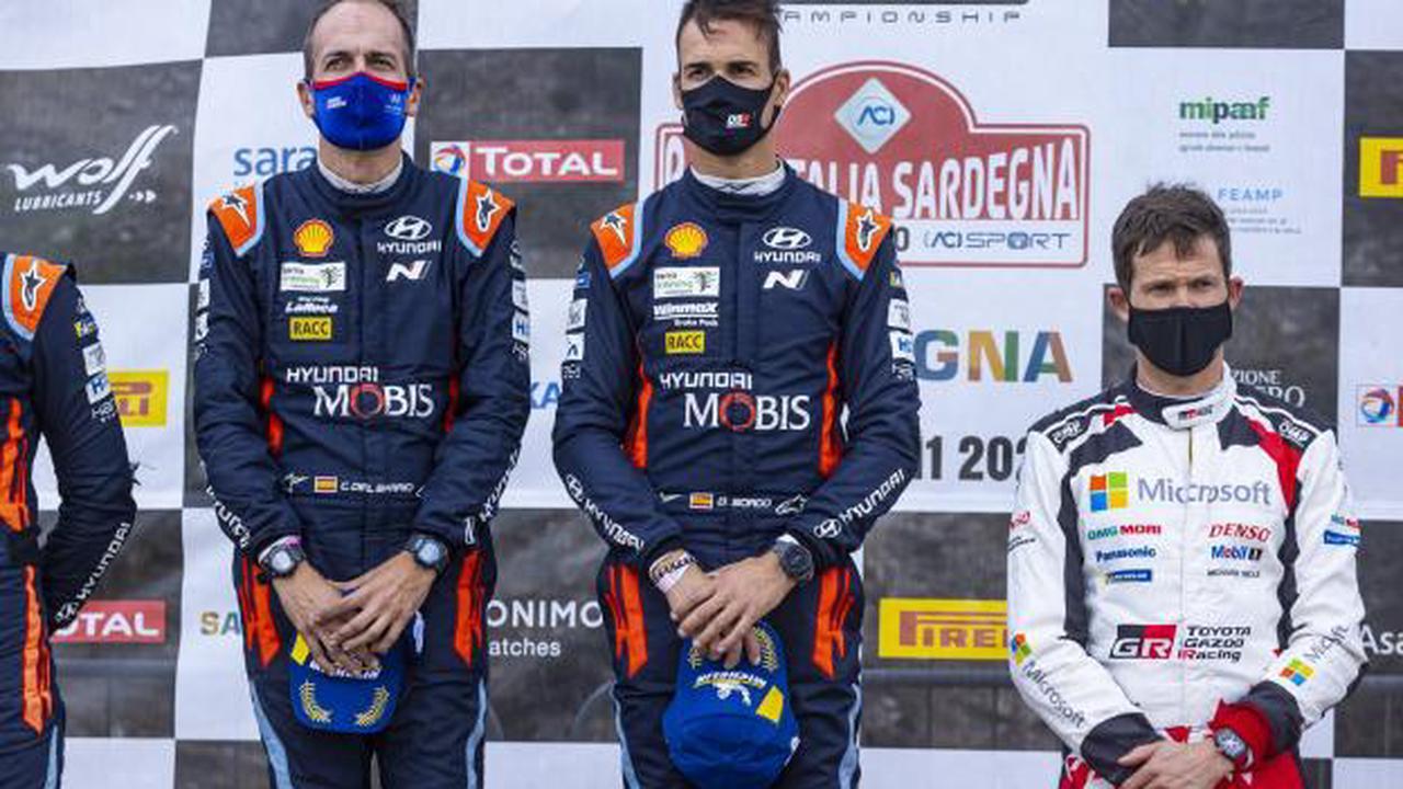 Hyundai conserve Sordo et Breen pour le WRC 2021