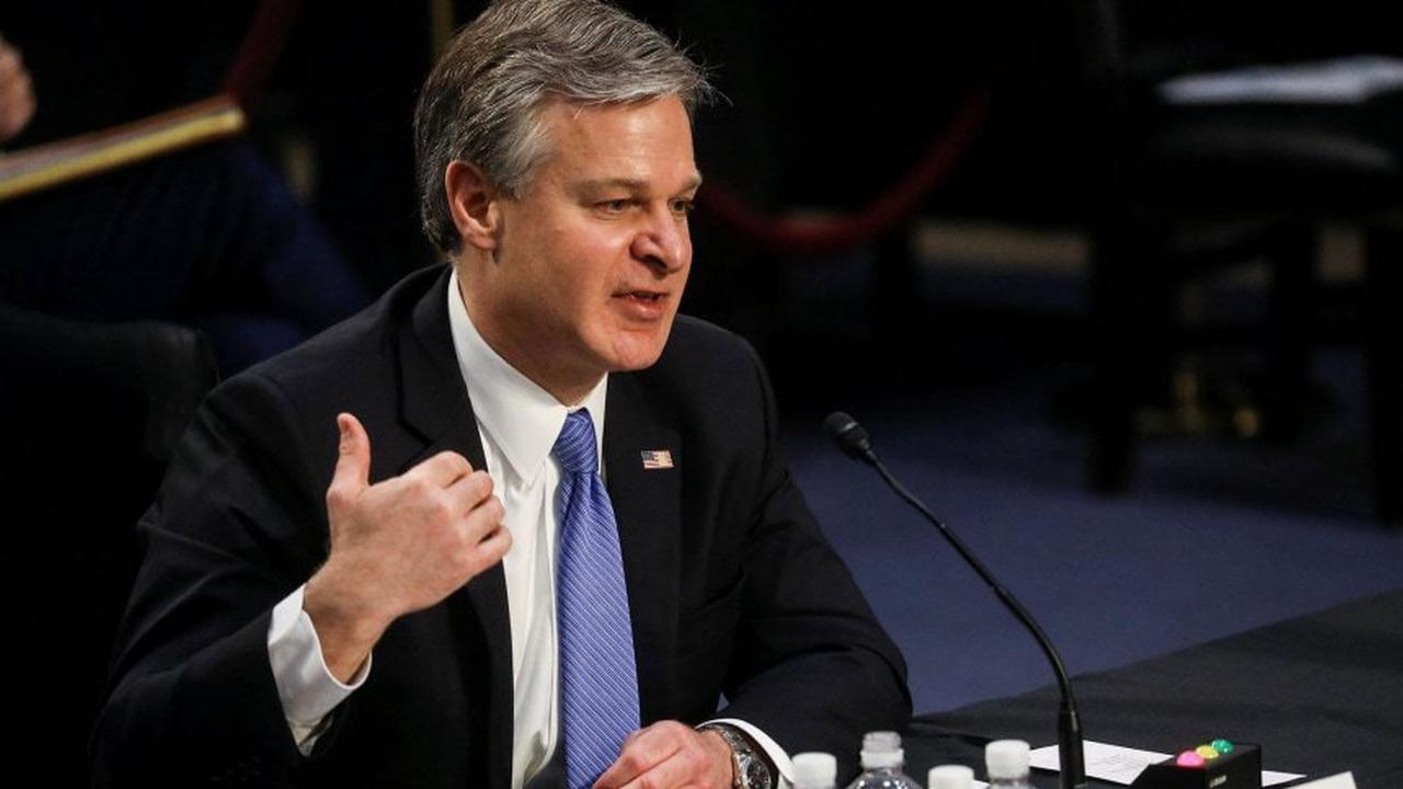 FBI Director Wray repeatedly refutes claims antifa activists attacked Capitol in testimony