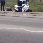 What a shocker of A Scene:A Man was found dead on the side of the road