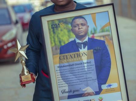 Enoch Darko is making it big in Nigeria