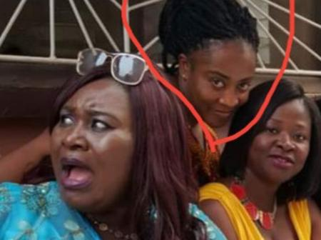 Who remembers the beautiful lady standing behind Akyere Bruwaa and Portia? See how she looks now