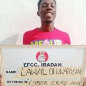 Check out The Error A Guy Noticed in The English That EFCC Wrote on This Board