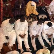 La photo du jour : les fils d'Hamed Bakayoko aperçus à la mosquée d'Abobo ce vendredi