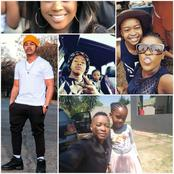 Generation Actor Mpho with his Wife and Daughter including car