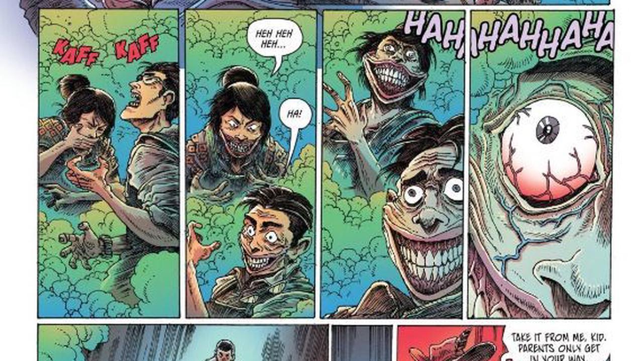 DC Reveals Clownhunter's Origin