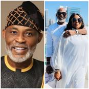 Check out Lovely Photos Of Richard Mofe Damijo's Wife Called Jumobi