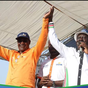 Something Cooking? Former Governor Dr Kidero Posts a Photo With Raila Raising Speculations