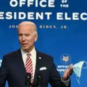 Joe Biden states 1 simple way to keep America safe, counter terrorism, extremism and pandemic.