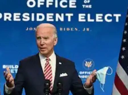 Joe Biden states 1 simple way to keep America safe, counter terrorism, extremism and pandemic.