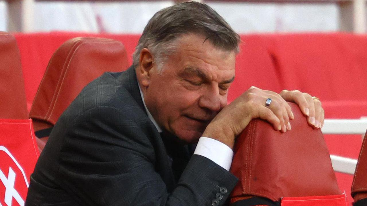 Sam Allardyce won't discuss his future after West Brom's relegation is confirmed