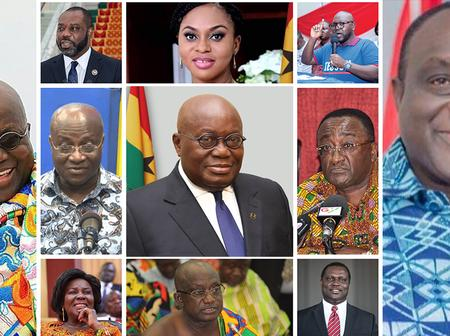 Ashanti Region Wins Big In Akufo Addo's New Cabinet - Checkout The List