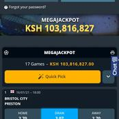 Place this Multibet out of Mega Jackpot Games and Get a Chance to Win Big.