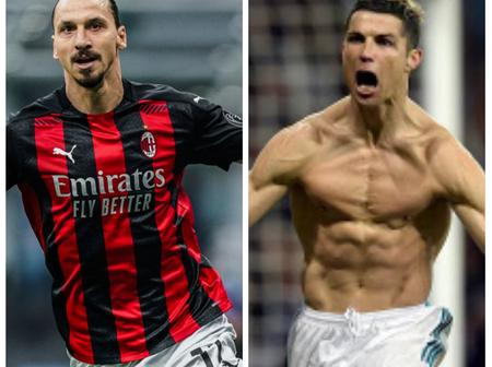 If Zlatan Ibrahimovic can do it at 39; then Cristiano Ronaldo can do it at 49