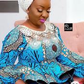 Ladies, Check Out These 30 Eye Popping Ankara Peplon Tops For Beautiful Ladies