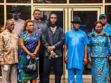 Burna Boy Receives 10million naria And A Landed Property In Port Harcourt.