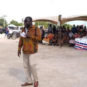 B/R: Dormaa East MP, Hon. Paul Apreku Twum Barimah Donates Over 300 Items To Youth.