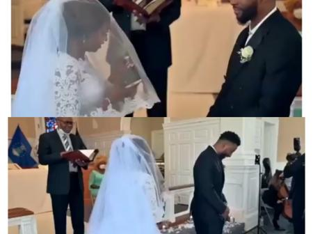 Instead Of Making Her Marriage Vows, Check What Bride Did On The Altar That Stirred Reactions