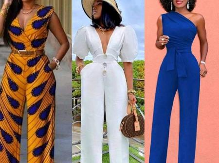 Fashion inspirations; See Latest Jumpsuits Styles for this Festive Season. Photos