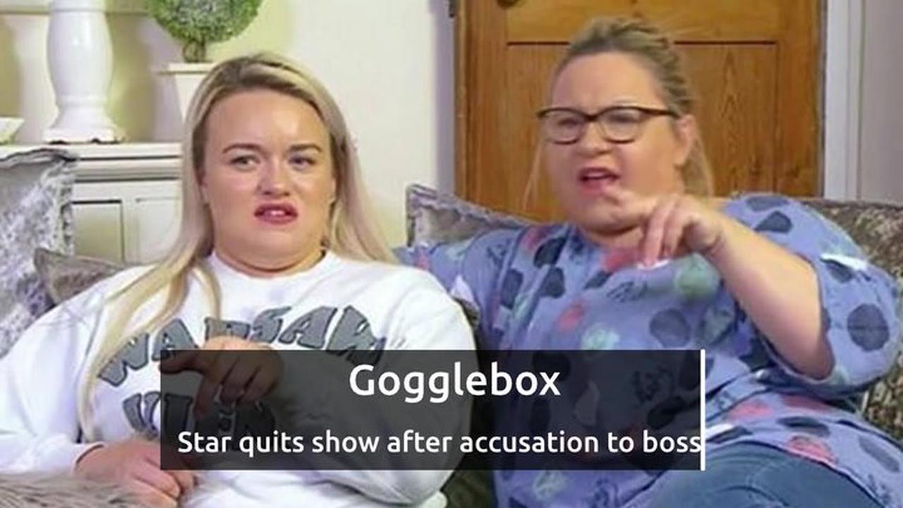 Gogglebox star quits hours before new series - and slags off bosses