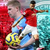 Never Compare Bruno Fernandes And De Bruyne Again, See Their Stats Ahead Of The Manchester Derby