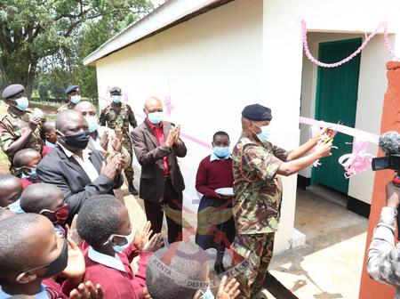 Kenya Defence Force Soldiers Take Action After a School's Only Toilet Sunk in Kericho