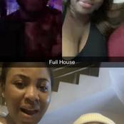 Check out pictures of four BBN Lockdown housemates on a video call causing a stir online.