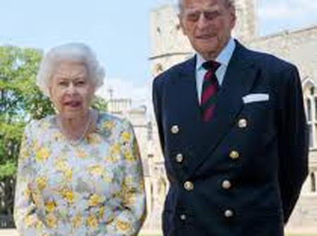 Queen Elizabeth announces the death of her husband Prince Philip