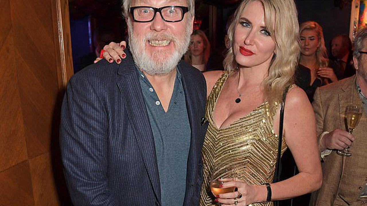 'Our age difference is irrelevant': Vic Reeves' wife Nancy Sorrell, 47, reveals plans to renew wedding vows with comedian, 62, as she hits out at critics