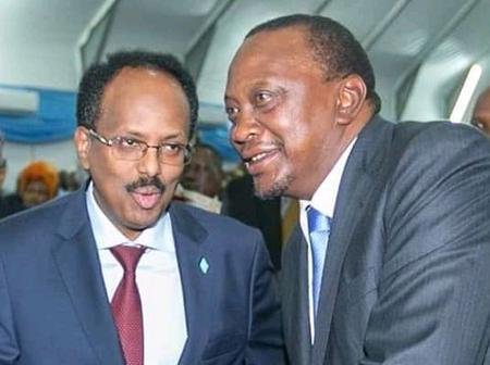 Kenya And Somalia Agrees To Restore Diplomatic Relations After President Uhuru Trip To Djibouti