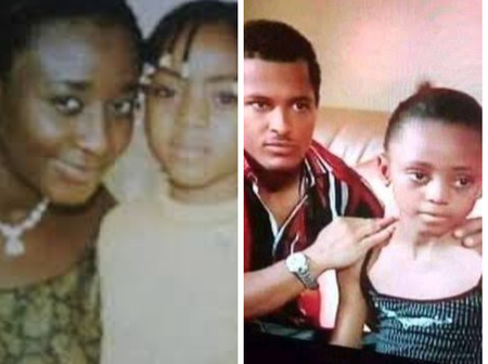 Throwback Photos Of Young Regina Daniels With Ini Edo, Destiny Etiko And Her Family Members
