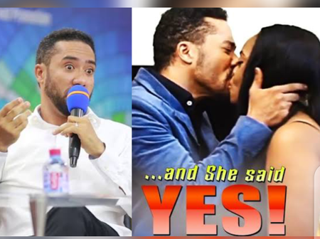 5 Years After He Stopped Acting To Become A Pastor, See Pictures Of Majid Michel Preaching The Gospel