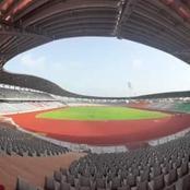Préparation de la CAN 2023 : le stade de Yamoussoukro presque prêt