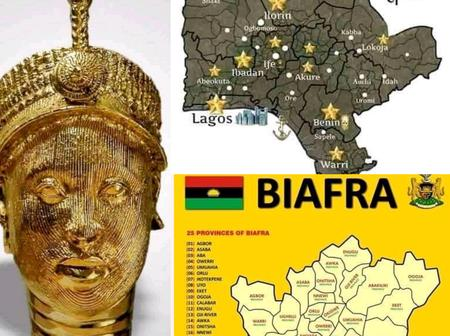 Between The Maps Of Both Oduduwa And Biafra Republic, Which One Looks More Good