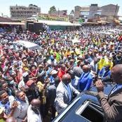 Dp Ruto's Mighty Welcome in David Murathe's Hometown