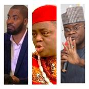 Yahaya Bello Said FFK Is Begging Them To Take Him To Buhari But Buhari Yet To Agree -Deji Adeyanju