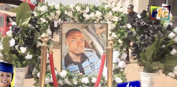 708593134e71cdbe10bcc466abb70c2d?quality=uhq&resize=720 - Sad: Scenes from the KNUST Uber driver funeral who was murdered by a final year student(Photos)