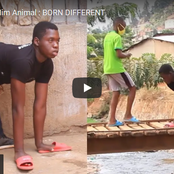 Meet Damoe, The Boy Who Has Been Walking Like An Animal For 17 Years | Bullies Call Him A Monster.