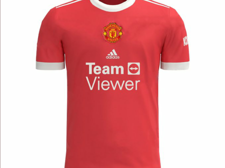 Leaked : The New Man United's Sponsors And Home Kit That Has Got Fans Talking
