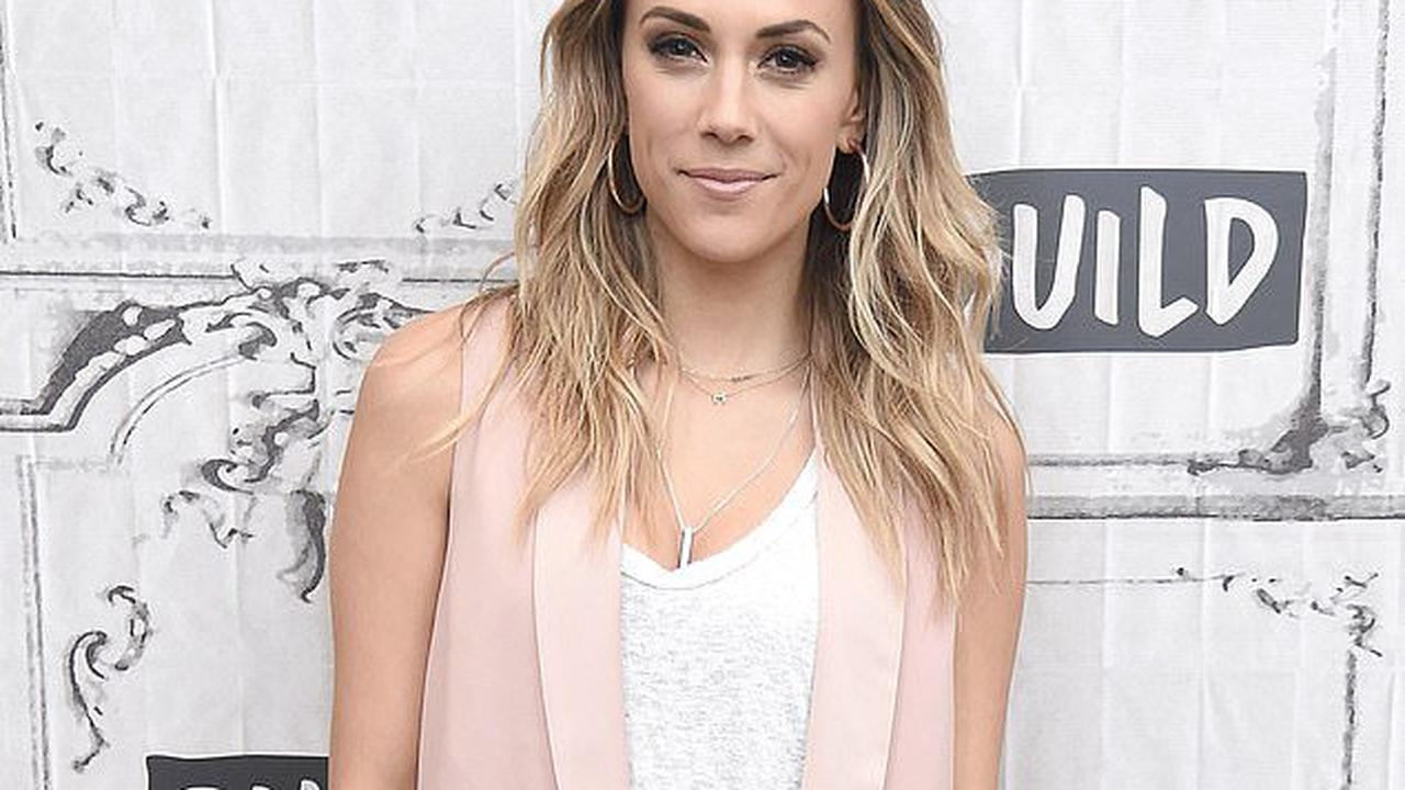 Jana Kramer poses topless on Instagram as she shows off new breast implants amid divorce from Mike Caussin