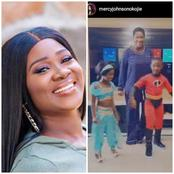 Mercy Johnson Shares Photos Of Her Children Dressed Up As Funny Cartoon Characters