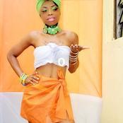 Cette photo de Cecilia la magie aux couleurs nationales de la Côte d'Ivoire fait le buzz ce vendredi