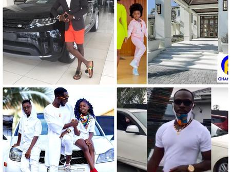 See Okyeame Kwame Flaunts His Beautiful Expensive Cars And Mansion In Photos