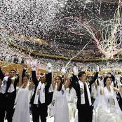 Photos Of Reverend And Church Who Wedded 4,000 Couples On Same Day