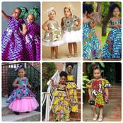 Checkout Different Ankara Designs For Kids