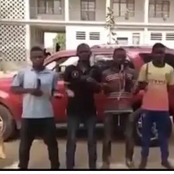 Kannywood: The thieves who seized a car of actor, Nasiru Naba have been arrested by the police